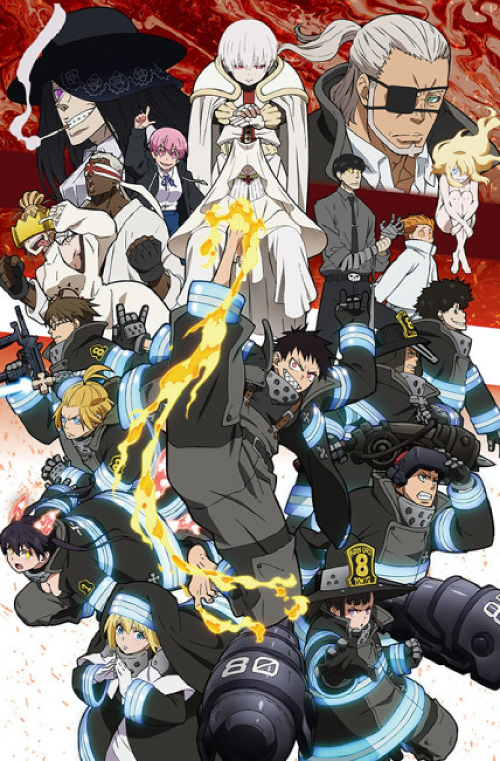 Enen no Shouboutai Season 2 ( Fire Force Season 2 )