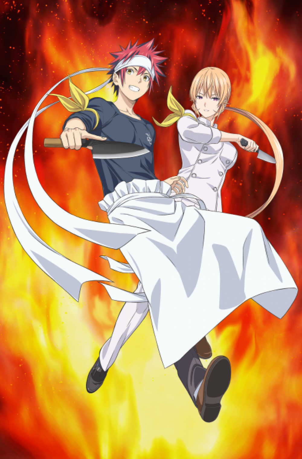 Shokugeki no Soma: Shin no Sara ( Shokugeki no Souma Season 4 ) ( Food Wars! The Fourth Plate )