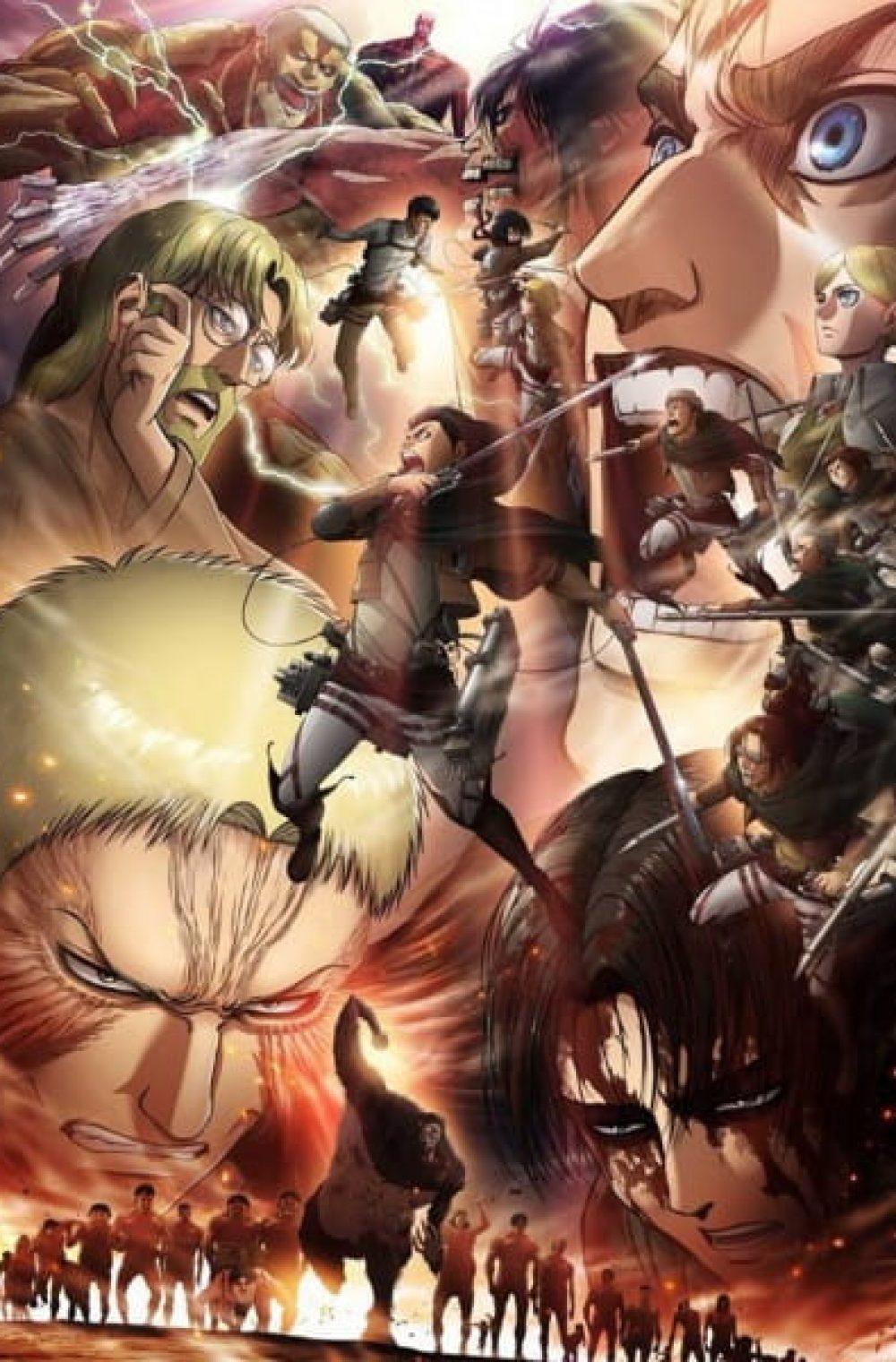 Shingeki no Kyojin 3 Part 2 ( Attack on Titan Season 3 Part 2 )